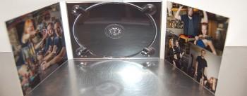 Sechsseitiges Digipack im CD-Format