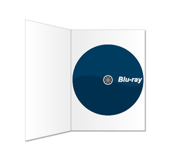 Blu-ray und BD-Digipack bedruckt