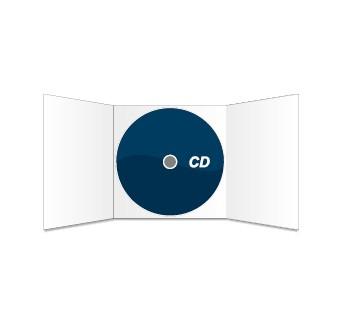 CD und 6s. CD-Digipack bedruckt