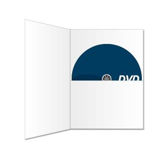 DVD in DVDFile (ohne Schlitz) bedruckt
