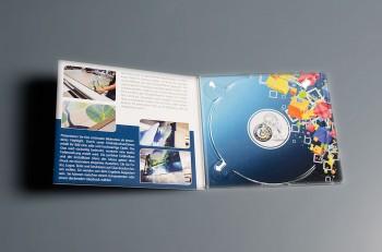 CD Digipack (ohne Schlitz) bedruckt