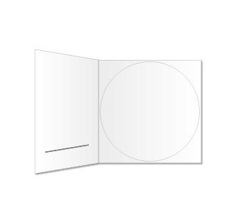 CD DigiPac (mit Schlitz) bedruckt
