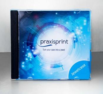 DVD bedruckt mit CD-Jewelcase und Cover