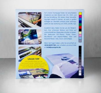 DVD und Kartonstecktasche bedruckt