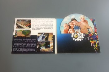 CD und Digifile bedruckt