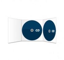 2CDs und 6s. Digipack (ohne Schlitz) bedruckt