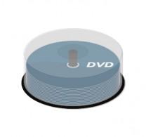 DVD bedruckt auf Spindel