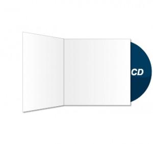CD und CD-Sleeve bedruckt