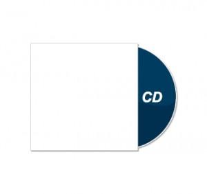 CD und Kartonstecktasche bedruckt
