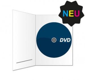 DVD in DVDPac (mit Schlitz) bedruckt
