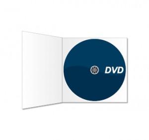 DVD und Digipack (ohne Schlitz) bedruckt